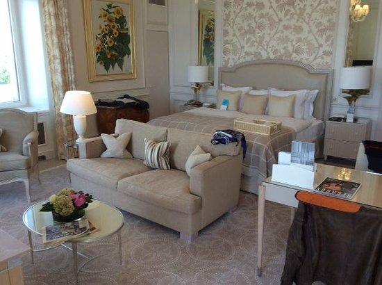 Beau-Rivage Palace: Lit