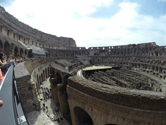 Coliseo: An awesome structure, way ahead of its time