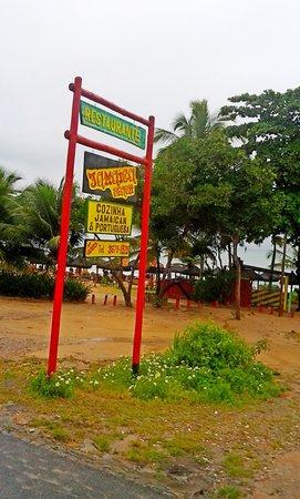 Jamaica Beach - Restaurante & Bar de Praia: entrada