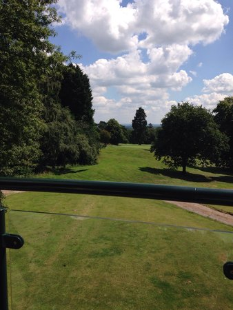 Macdonald Portal Hotel, Golf and Spa: View from bar area