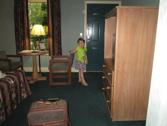 Twin Mountain Inn & Suites: View from the entrance