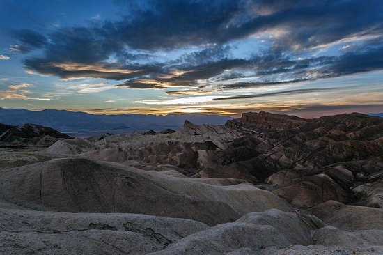 Death Valley National Park, Californië: Zabriskie Point