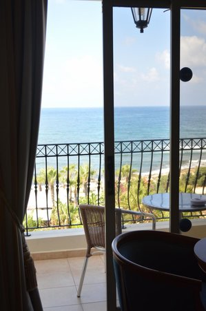 Aquamare Beach Hotel & Spa: View from room 411
