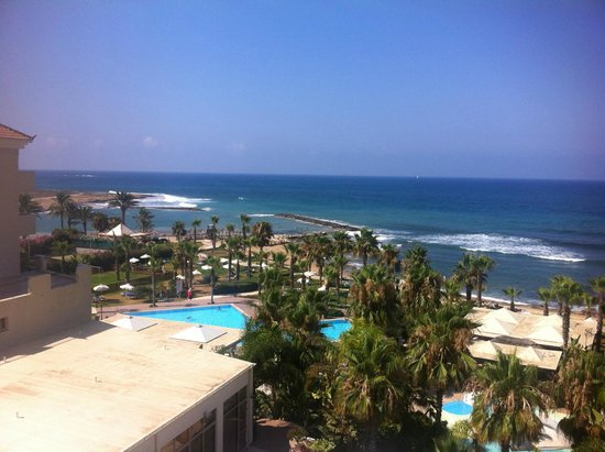 Aquamare Beach Hotel & Spa: Beautiful view from our room(411)