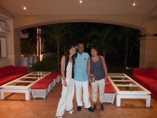 Mauricia Beachcomber Resort & Spa : Petit souvenir avec Mahen