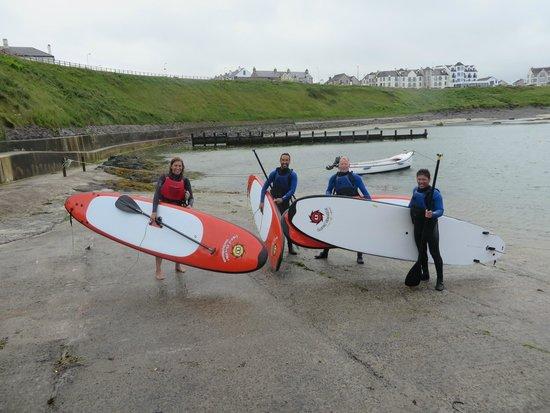 Surf Sup NI: Paddleboarding in Portballintrae
