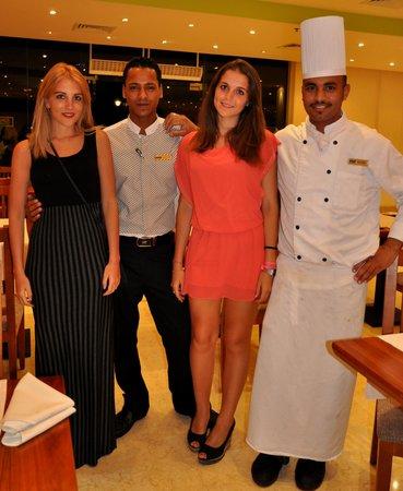 Concorde Moreen Beach Resort & Spa Marsa Alam: ristorante e ristoratori