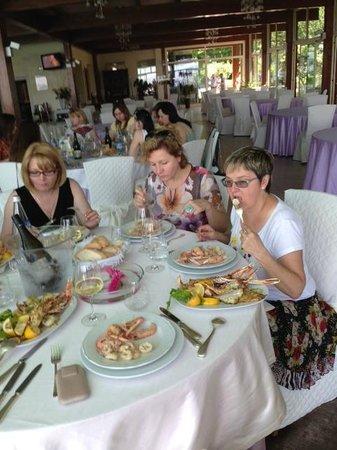 Ristorante Parco Hotel: вкусные морепродукты !