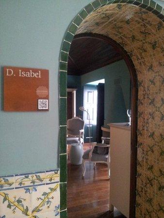 Pousada de Obidos Historic Hotel: Porta de entrada do quarto