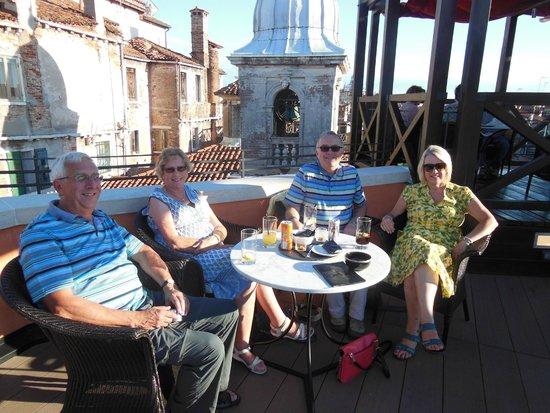 Starhotels Splendid Venice: The roof top bar