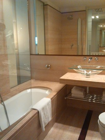 Hilton Florence Metropole : bagno stanza hilton firenze