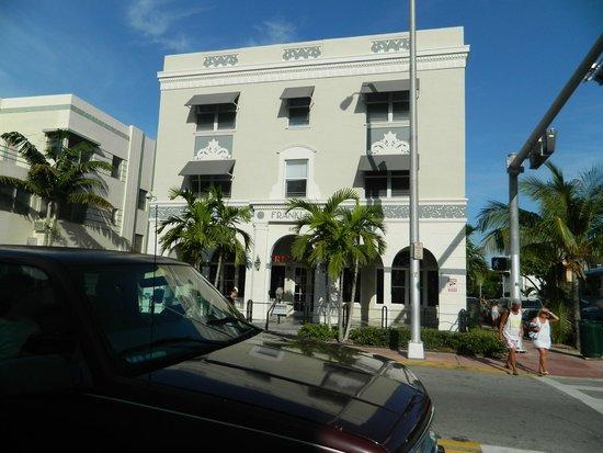 The Franklin Hotel: Fachada