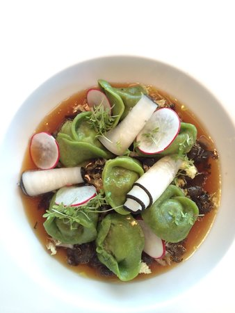Bayview : What else? Fresh, tasty, pasta wih queue de boeuf in bouillon. Sublime!