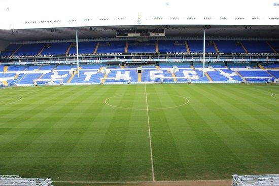 White Hart Lane: The pitch