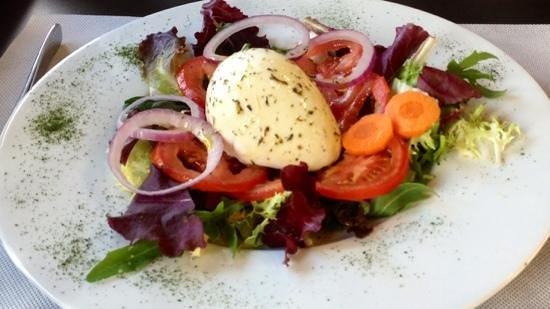 Can Cervera by La Croqueta : Tomates Mozza de Buffle
