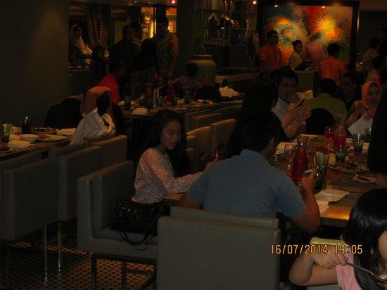 Hilton Kuala Lumpur: Coffee house