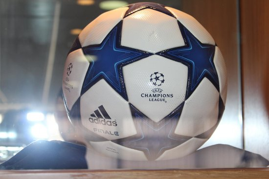 White Hart Lane: The ball from Gareth Bale's demolishing of Inter Milan, 3-1 in the Champions League