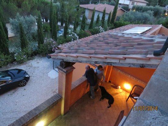Hotel Saturno Fonte Pura: vista dal balcone