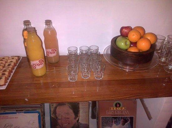 Jam Suites Boutique Hotel: Jugos, frutas