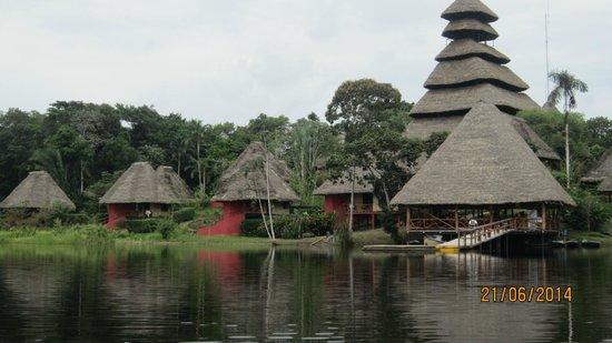 Napo Wildlife Center Ecolodge: Napo Wildcenter Lodge