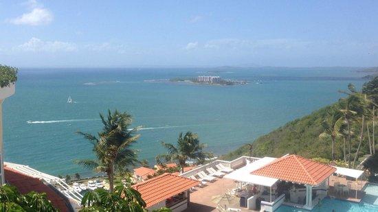 Palomino Island: View from the El Conquistador hotel