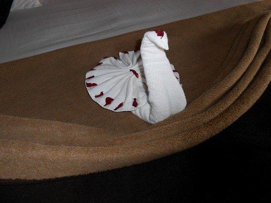 ClubHotel Riu Tikida Palmeraie: Towel Swan