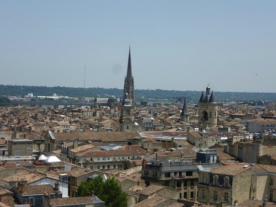 Tour Pey-Berland : View from the top