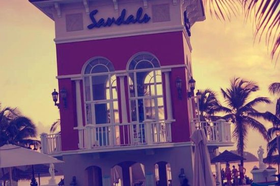 Sandals Grande St. Lucian Spa & Beach Resort: The bar pool