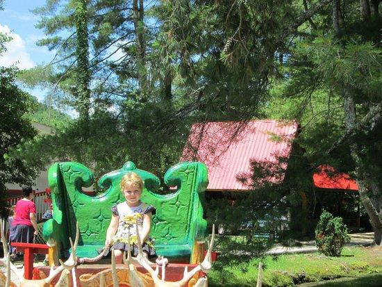 Santa's Land: Santa's sleigh