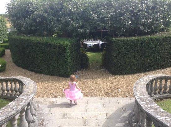 Fawsley Hall Hotel & Spa: Princess enters afternoon tea