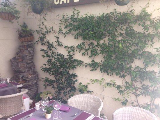 Terrasse de la Courette du Faubourg