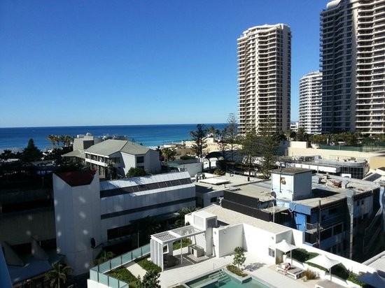 Hilton Surfers Paradise Hotel: View from my room