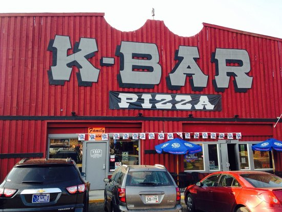 KBar Pizza: From the front