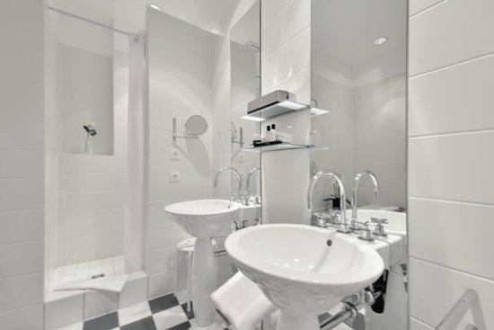 Privathotel Lindtner Hamburg: Badezimmer