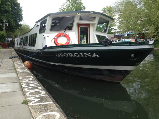 Riverboat Georgina Cambridge