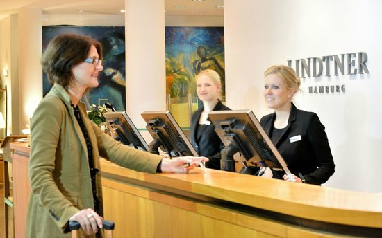 Privathotel Lindtner Hamburg: Empfang