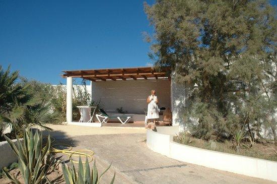 Oasi di Casablanca Hotel : il patio della nostra stanza