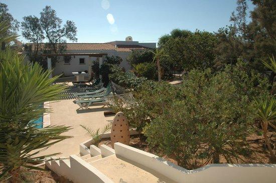 Oasi di Casablanca Hotel: giardino attorno alla piscina