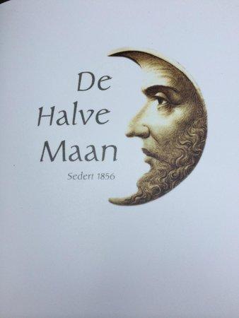 Brouwerij De Halve Maan: Эмблема ресторана