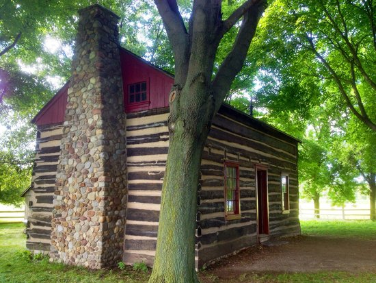 Peter Whitmer Log Home