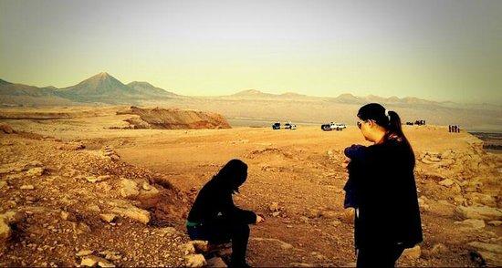 Valle de la Luna - Valle de la Muerte : Momento Reflexão...