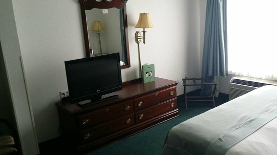 Wingate by Wyndham Duluth/Atlanta: TV a bit too small for this size room