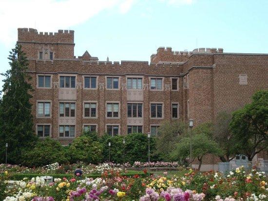 University of Washington: Outra vista da região central