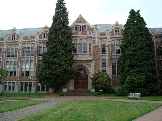University of Washington: Belas construções
