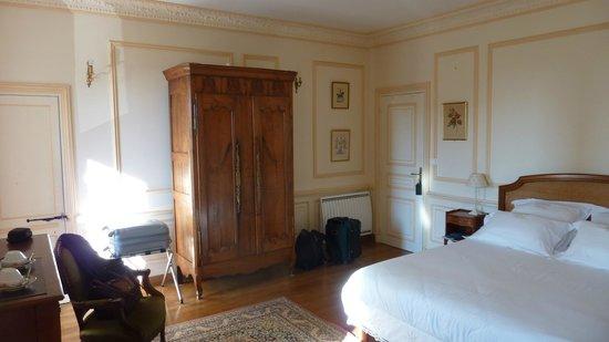 Chateau du Rozel : Chambre