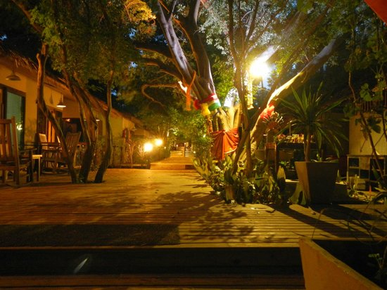 Tango Beach Resort : the central path