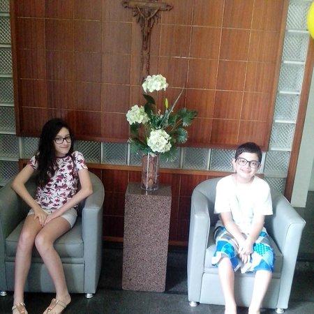Ondamar Hotel: Recepção