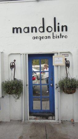 Mandolin Aegean Bistro: Fachada do restaurante
