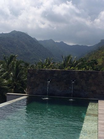 Svarga Resort Lombok: Svarga's swimmingpool