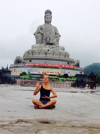 Dongwan Guanyin Mountain: peace!